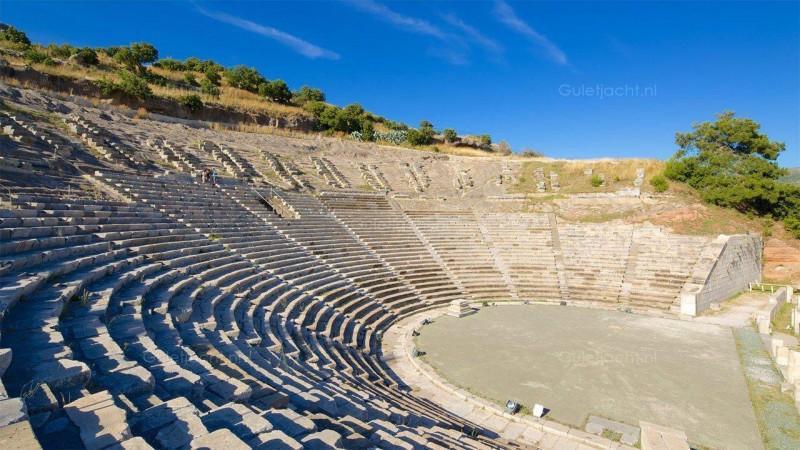 Het antiek Theater Bodrum