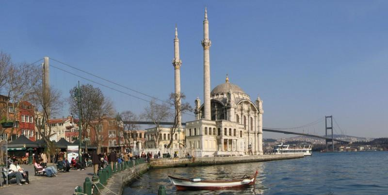 De Dolmabahçe Moskee