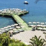 Hotel Baia Bodrum - Pier in de zee