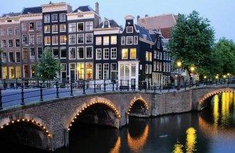 Amsterdam grachten en bruggen