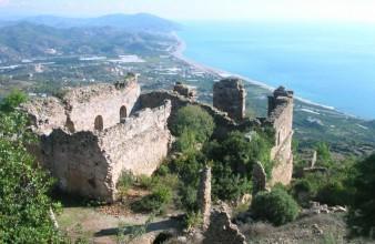 De antieke stad Syedra