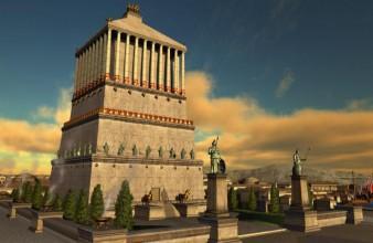 Het Mausoleum van Halicarnassus